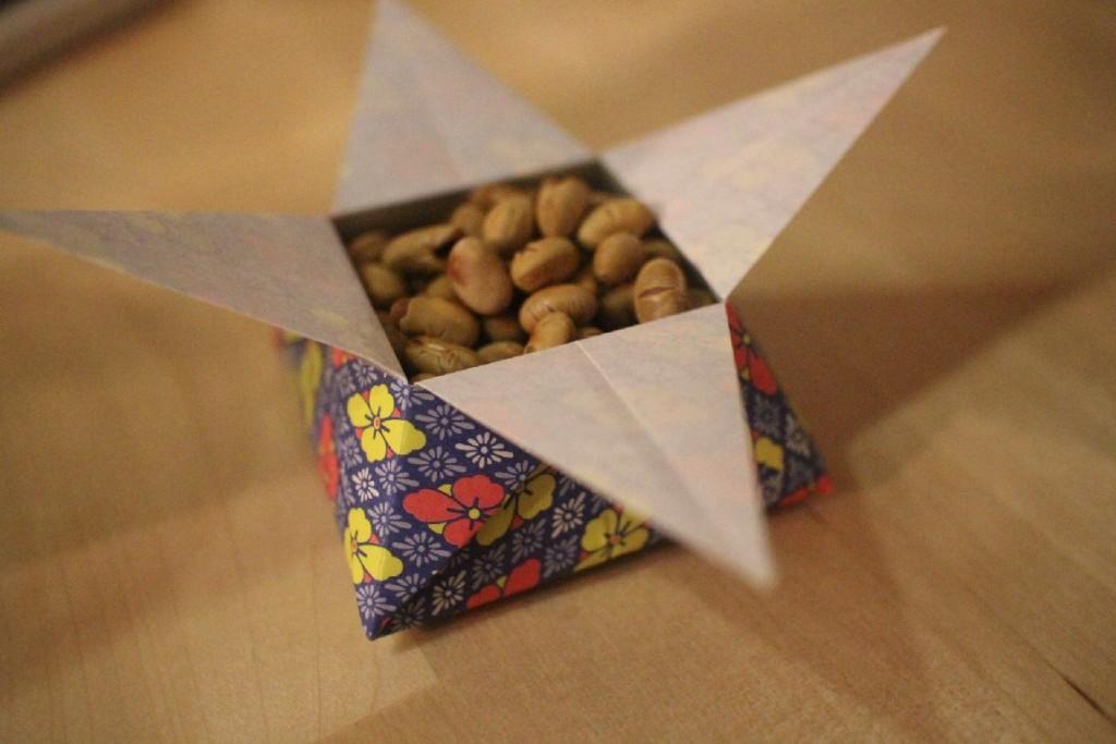 Origami-Sternschachtel